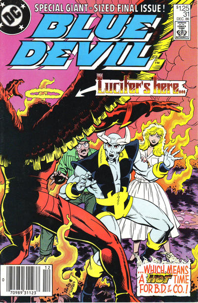 Cover for Blue Devil (DC, 1984 series) #31 [Direct Sales]
