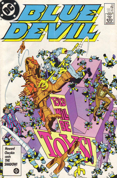 Cover for Blue Devil (DC, 1984 series) #24 [Direct Sales]