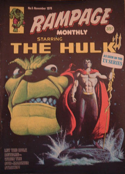 Cover for Rampage Monthly (Marvel UK, 1978 series) #5