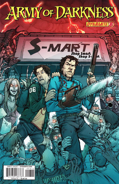 Cover for Army of Darkness (Dynamite Entertainment, 2012 series) #8