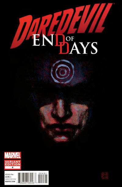 Cover for Daredevil: End of Days (Marvel, 2012 series) #4 [Variant Cover by David Mack]