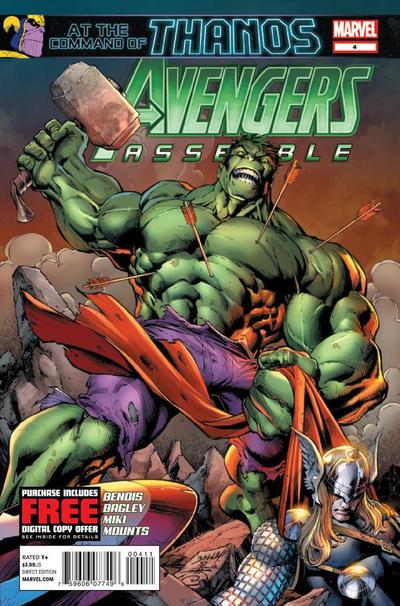 Cover for Avengers Assemble (Marvel, 2012 series) #4
