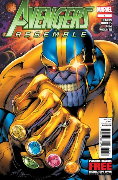 Cover for Avengers Assemble (Marvel, 2012 series) #7