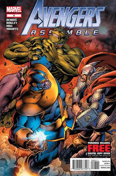 Cover for Avengers Assemble (Marvel, 2012 series) #8