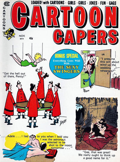 Cover for Cartoon Capers (Marvel, 1966 series) #v6#5