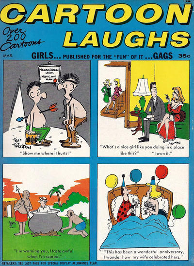 Cover for Cartoon Laughs (Marvel, 1962 series) #v6#2