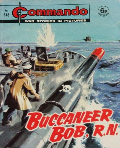 Cover for Commando (D.C. Thomson, 1961 series) #618