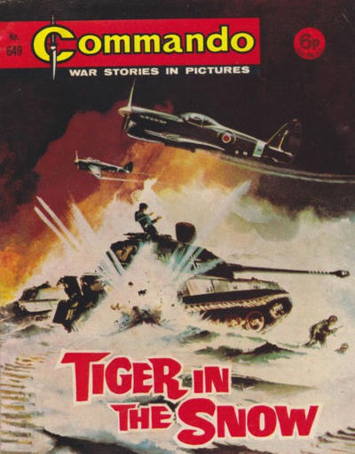 Cover for Commando (D.C. Thomson, 1961 series) #649