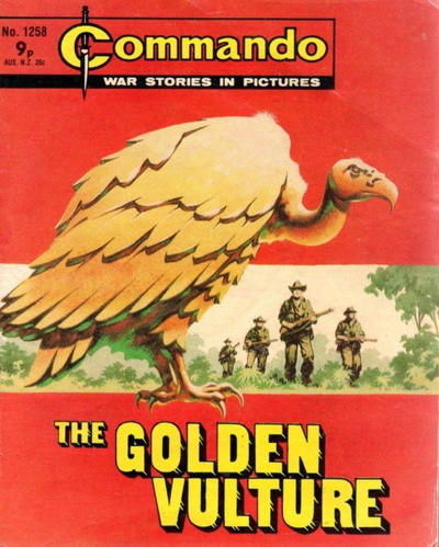 Cover for Commando (D.C. Thomson, 1961 series) #1258