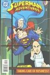 Cover for Superman Adventures (DC, 1996 series) #27 [Direct Sales]