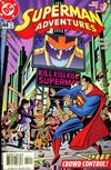 Cover for Superman Adventures (DC, 1996 series) #44 [Direct Sales]