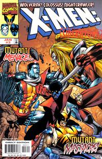 Cover for X-Men: Liberators (Marvel, 1998 series) #3 [Direct Edition]