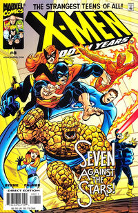 Cover Thumbnail for X-Men The Hidden Years (Marvel, 1999 series) #8 [Direct Edition]