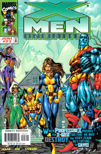 Cover Thumbnail for X-Men Unlimited (Marvel, 1993 series) #23