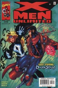 Cover Thumbnail for X-Men Unlimited (Marvel, 1993 series) #28 [Direct Edition]