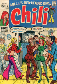 Cover Thumbnail for Chili (Marvel, 1969 series) #5