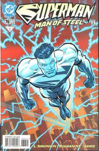 Cover Thumbnail for Superman: The Man of Steel (DC, 1991 series) #76