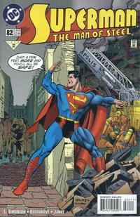 Cover Thumbnail for Superman: The Man of Steel (DC, 1991 series) #82