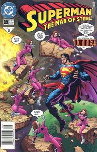 Cover Thumbnail for Superman: The Man of Steel (DC, 1991 series) #89 [Newsstand Edition]