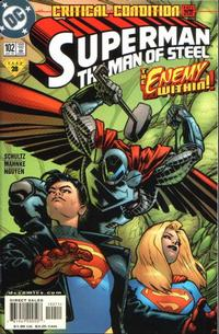 Cover Thumbnail for Superman: The Man of Steel (DC, 1991 series) #102