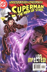 Cover Thumbnail for Superman: The Man of Steel (DC, 1991 series) #113