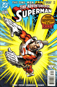 Cover Thumbnail for Adventures of Superman (DC, 1987 series) #570 [Direct Sales]