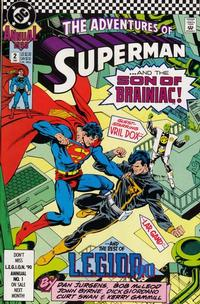 Cover Thumbnail for Adventures of Superman Annual (DC, 1987 series) #2