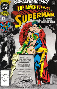Cover Thumbnail for Adventures of Superman Annual (DC, 1987 series) #3 [Direct]