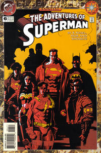 Cover Thumbnail for Adventures of Superman Annual (DC, 1987 series) #6 [Direct Sales]