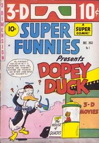 Cover Thumbnail for Super Funnies (Superior Publishers Limited, 1953 series) #1