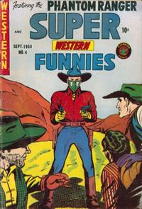 Cover Thumbnail for Super Funnies (Superior, 1953 series) #4