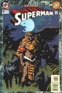 Cover for Superman Annual (DC, 1987 series) #6 [Newsstand]