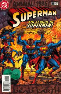 Cover Thumbnail for Superman Annual (DC, 1987 series) #8 [Direct Sales]