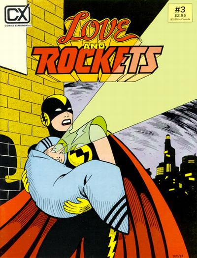 Cover for Love and Rockets (Fantagraphics, 1982 series) #3
