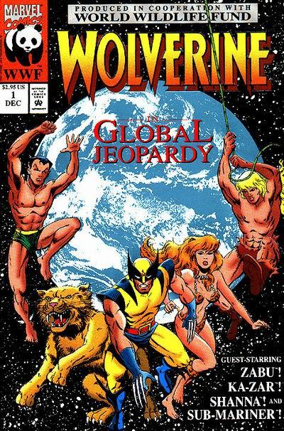 Cover for Wolverine: Global Jeopardy (Marvel, 1993 series) #1