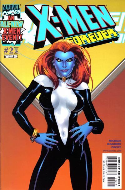 Cover for X-Men Forever (Marvel, 2001 series) #2