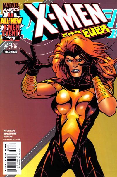 Cover for X-Men Forever (Marvel, 2001 series) #3