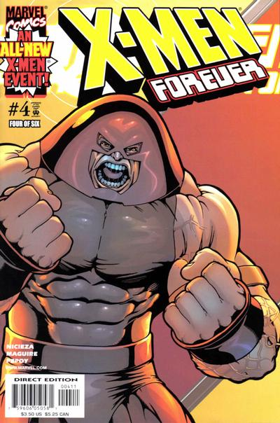 Cover for X-Men Forever (Marvel, 2001 series) #4