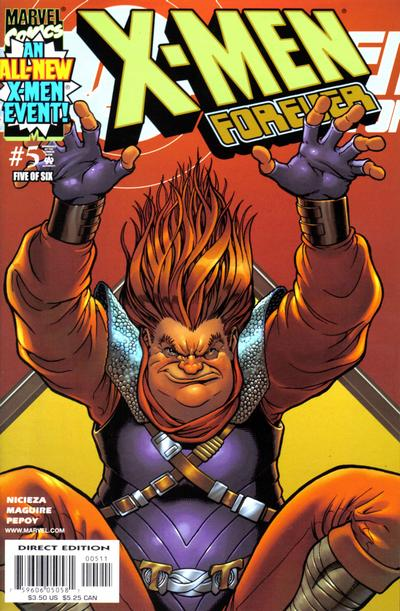 Cover for X-Men Forever (Marvel, 2001 series) #5