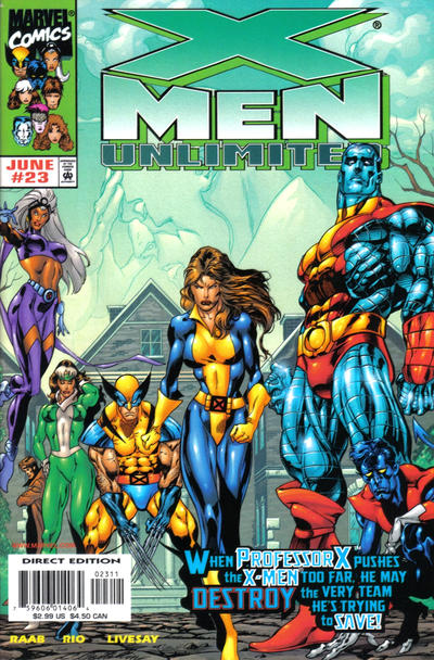 Cover for X-Men Unlimited (Marvel, 1993 series) #23