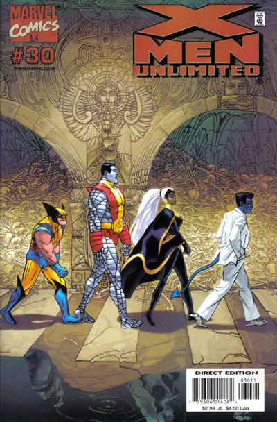 Cover for X-Men Unlimited (Marvel, 1993 series) #30