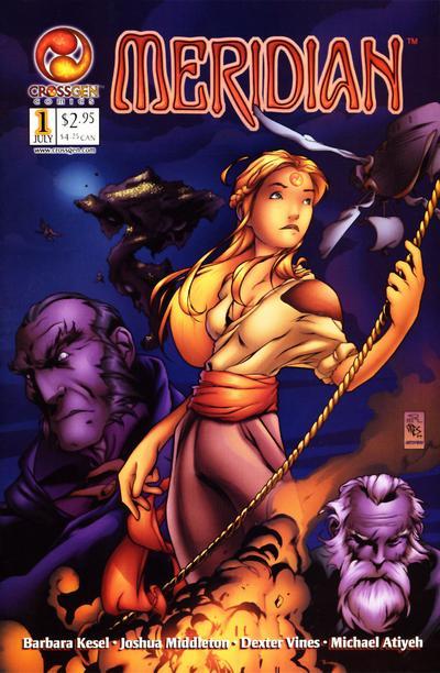 Cover for Meridian (CrossGen, 2000 series) #1