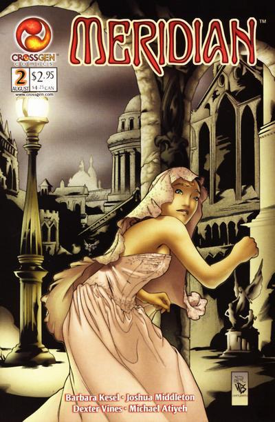 Cover for Meridian (CrossGen, 2000 series) #2