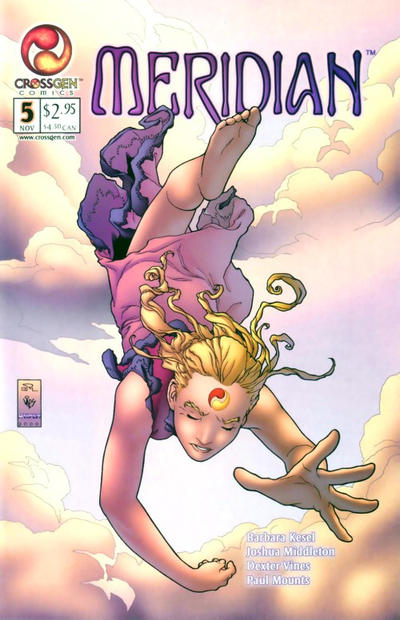Cover for Meridian (CrossGen, 2000 series) #5
