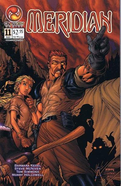 Cover for Meridian (CrossGen, 2000 series) #11
