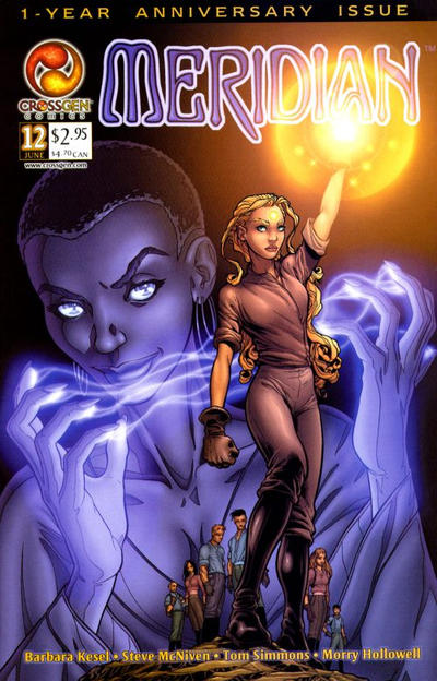 Cover for Meridian (CrossGen, 2000 series) #12