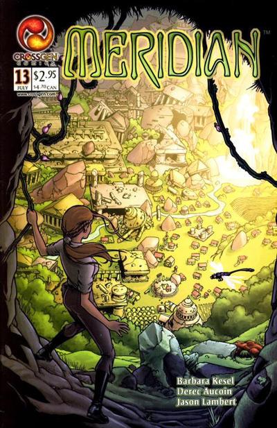 Cover for Meridian (CrossGen, 2000 series) #13