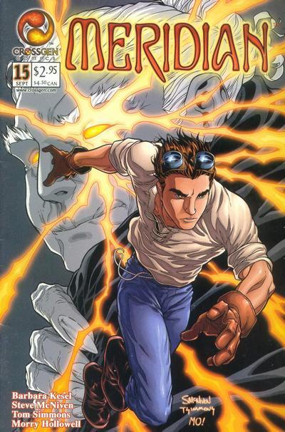 Cover for Meridian (CrossGen, 2000 series) #15