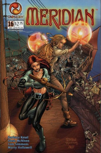 Cover for Meridian (CrossGen, 2000 series) #16
