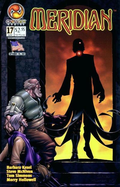 Cover for Meridian (CrossGen, 2000 series) #17